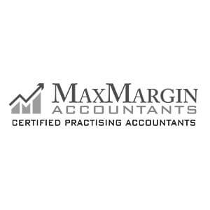 MaxMargin Accountants BW Logo
