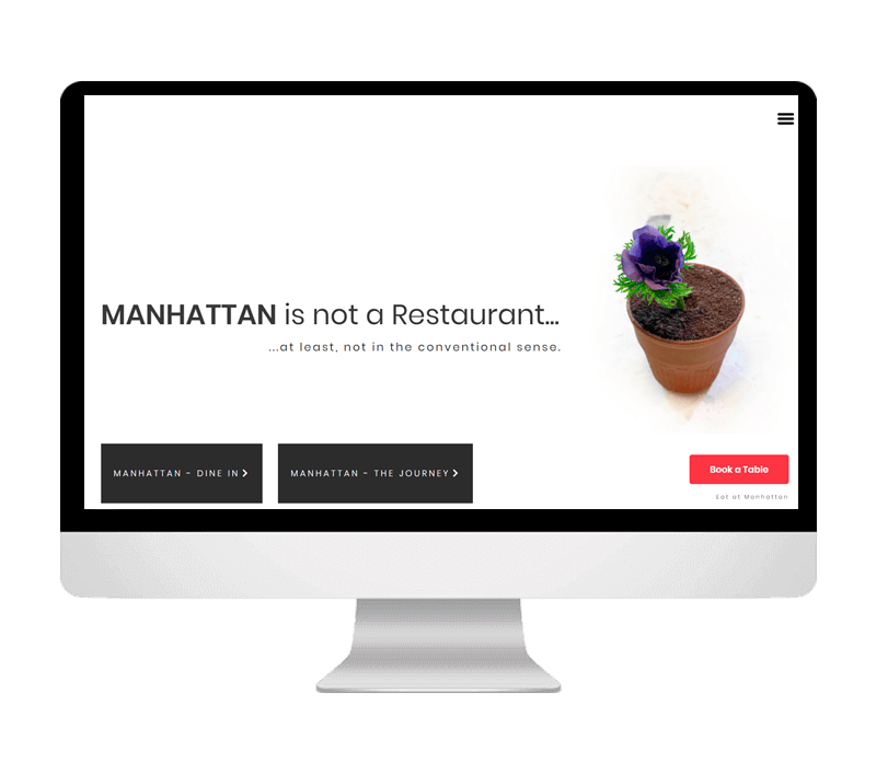 Manhattan Restaurant Portfolio
