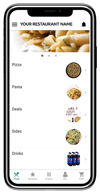 Food App - Iphone