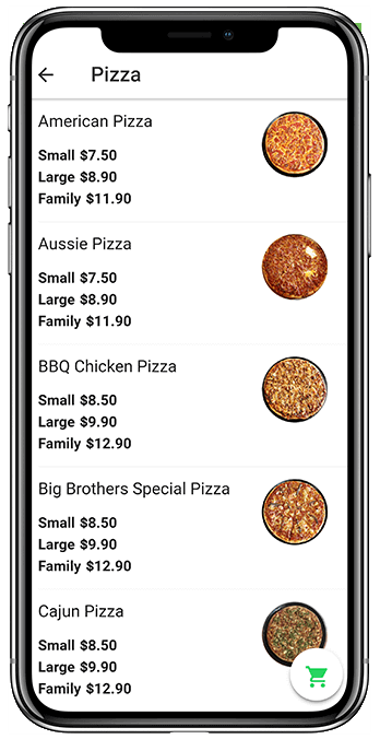 Food App - Iphone 2