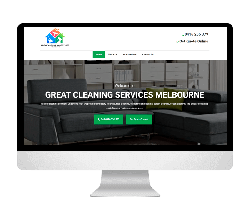 Great Cleaning Service Portfolio