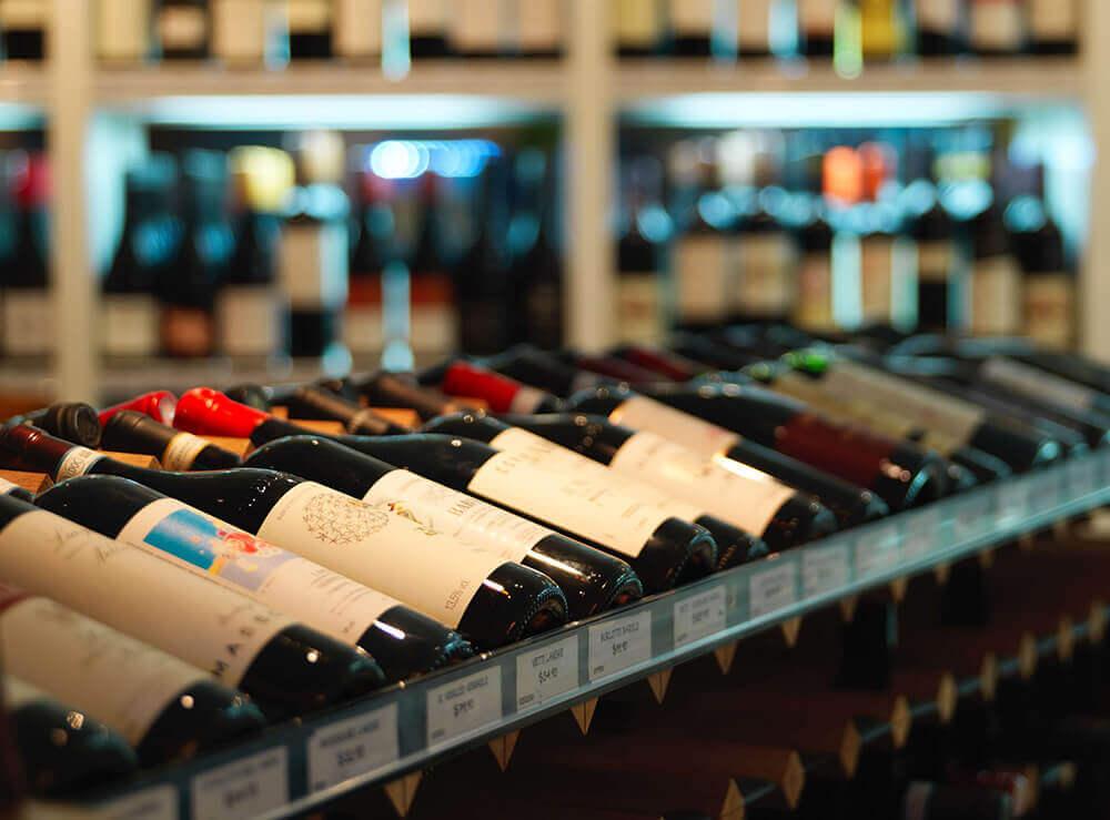 Web Design for Bottle Shop